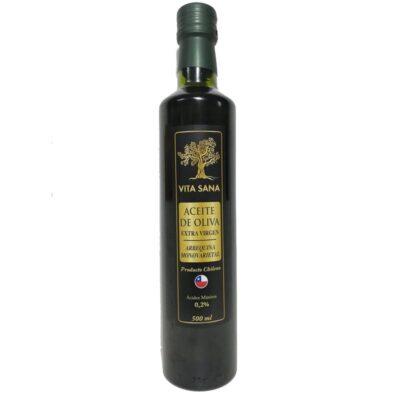 Aceite de Oliva Extra Virgen Vita Sana 500 Ml