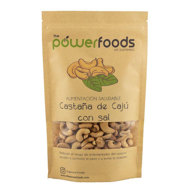 Castaña de Cajú Salada 500 Gr - Power Foods