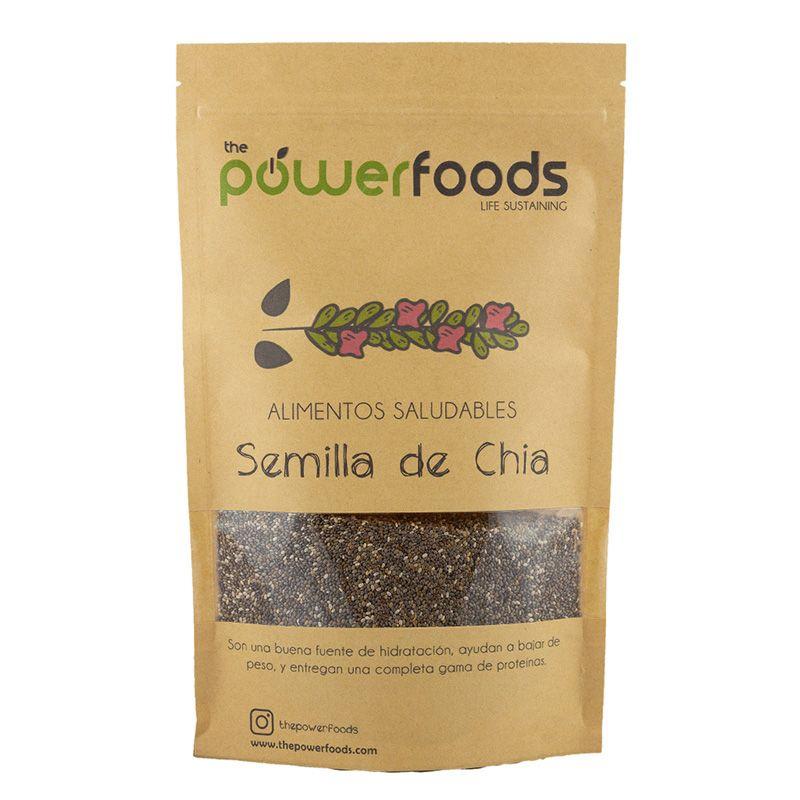 Semilla de Chia 500 Gr - Power Foods
