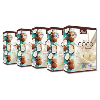 Leche de Coco en Polvo 150 Gr- 5 Unidades Biov