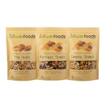 Pack mix de frutos secos 3 Un de 500 gr c/u