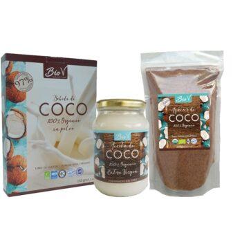 Pack Aceite, Leche y Azúcar de Coco - Biov