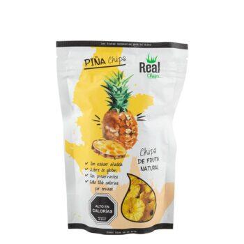 Real Chips Piña 40 Gr - Power Foods