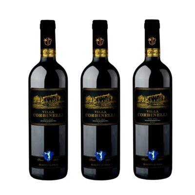 Pack 3 Unidades Vino Villa Corbinelli Rosso Merlot 2015