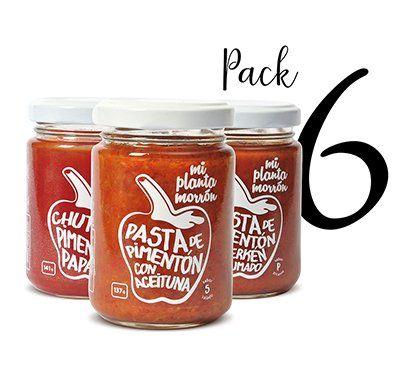 Pack 6 Salsas, Chutney, Pestos o Mermeladas a Elección - Mi Planta Morrón